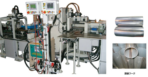 Full automation welding line