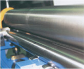 The shaft is quenched and grinded / Taper bending