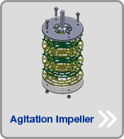 MSE application to agitation impeller